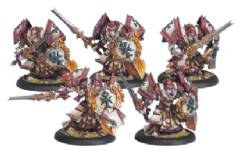 Menoth Exemplar Cinerators  (5)   Plastic kit